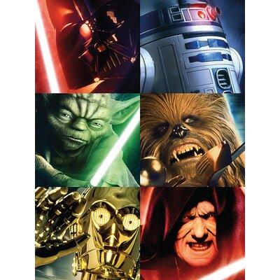 Art Group Star Wars - Character Squares Canvas Wall Art