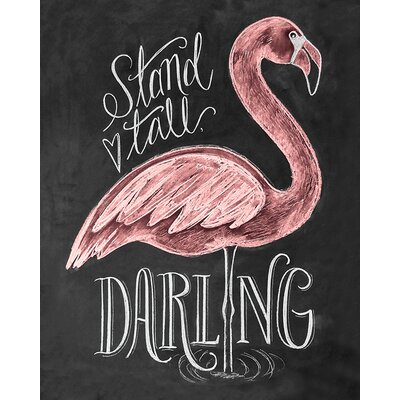 Art Group LiLy and Val - Flamingo Canvas Wall Art