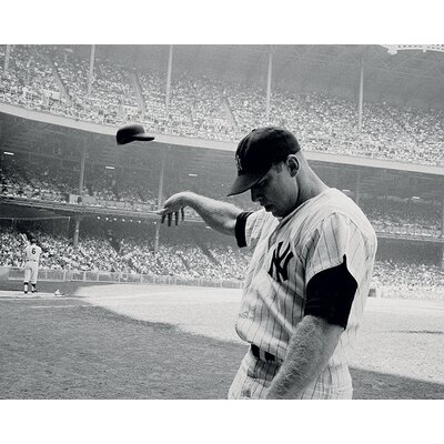 Art Group Time Life - Mickey Mantle 1965 Canvas Wall Art