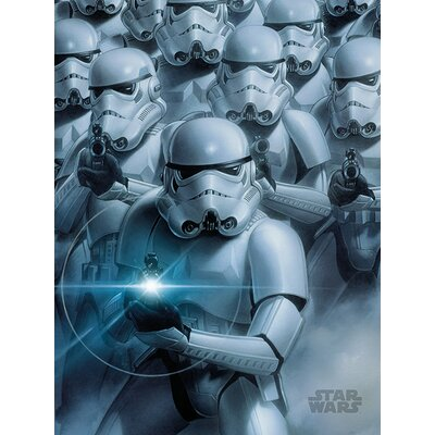Art Group Star Wars - Stormtroopers Canvas Wall Art