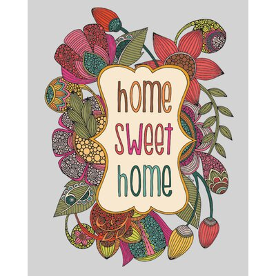 Art Group Valentina Ramos - Home Sweet Home Canvas Wall Art