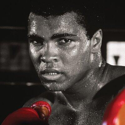 Art Group Muhammad Ali - Boxing Gloves Canvas Wall Art