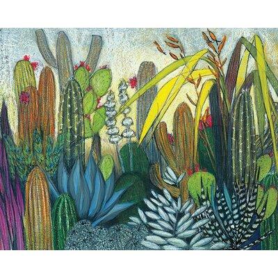 Art Group Shyama Ruffell - Succulents Canvas Wall Art