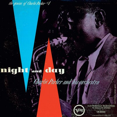 Art Group D - Night And Day Charlie Parker Vintage Advertisement Canvas Wall Art