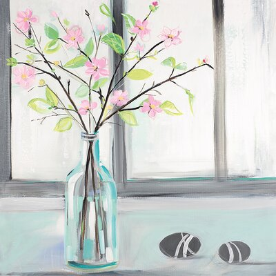 Art Group Janet Bell - Frosty Windows Canvas Wall Art