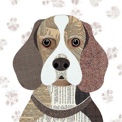 Art Group Simon Hart - Beagle Canvas Wall Art