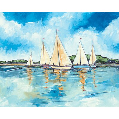 Art Group Stuart Roy - Getting Ready to Sail Canvas Wall Art