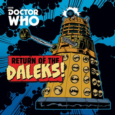 Art Group Doctor Who - Return of the Daleks Vintage Advertisement Canvas Wall Art