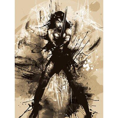 Art Group Batman V Superman - Wonder Woman Canvas Wall Art