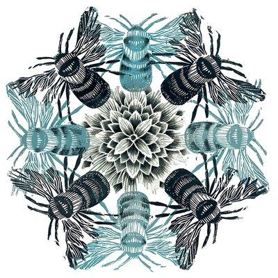 Art Group Amanda Colville - Circle Of Bees Canvas Wall Art