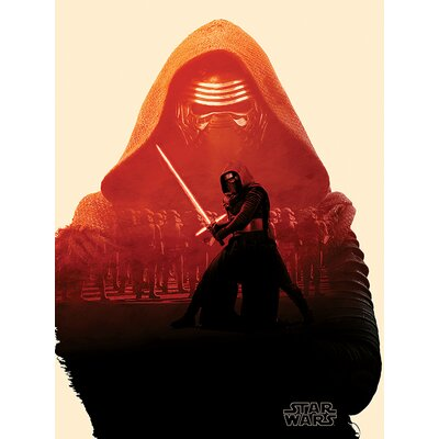 Art Group Star Wars Episode VII - Kylo Ren Tri Canvas Wall Art