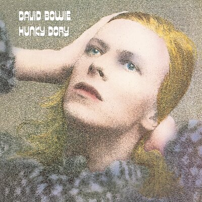Art Group David Bowie - Hunky Dory Vintage Advertisement Canvas Wall Art