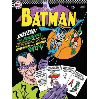 Art Group Batman - The Riddlers Vintage Advertisement Canvas Wall Art