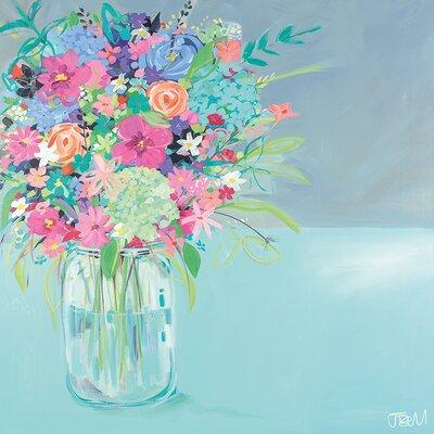 Art Group Janet Bell - Summer Posy Canvas Wall Art