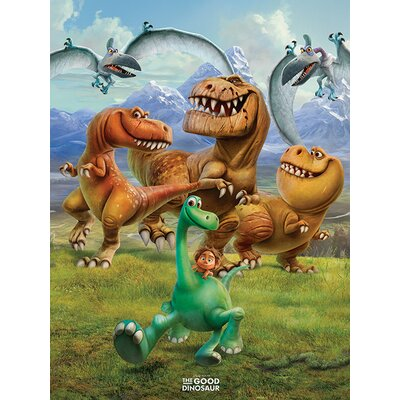 Art Group The Good Dinosaur - Characters Canvas Wall Art