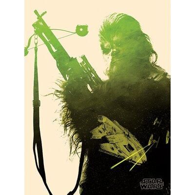 Art Group Star Wars Episode VII - Chewbacca Tri Canvas Wall Art