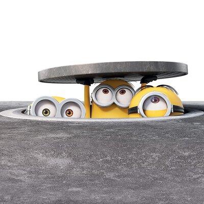 Art Group Minions - Manhole Vintage Advertisement Canvas Wall Art