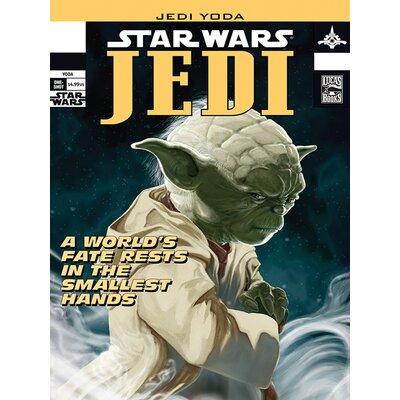 Art Group Star Wars - Yoda Comic Cover Vintage Advertisement Canvas Wall Art