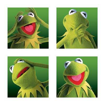 Art Group The Muppets - Kermit Boxes Canvas Wall Art