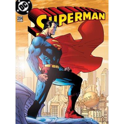Art Group Superman - 204 Vintage Advertisement Canvas Wall Art