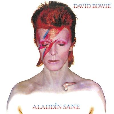 Art Group David Bowie - Aladdin Sane Canvas Wall Art