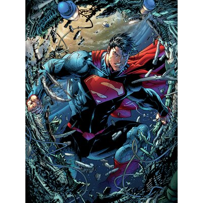 Art Group Superman - Unchained Vintage Advertisement Canvas Wall Art