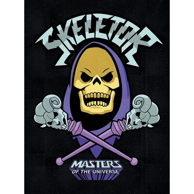 Art Group Masters of the Universe - Skeletor Vintage Advertisement Canvas Wall Art