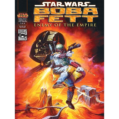 Art Group Star Wars - Enemy of The Empire Vintage Advertisement Canvas Wall Art