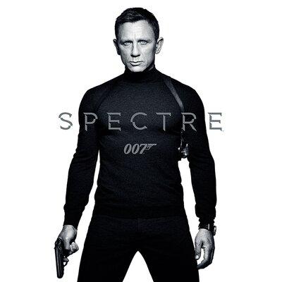 Art Group James Bond - Spectre - Black and White Teaser Vintage Advertisement Canvas Wall Art