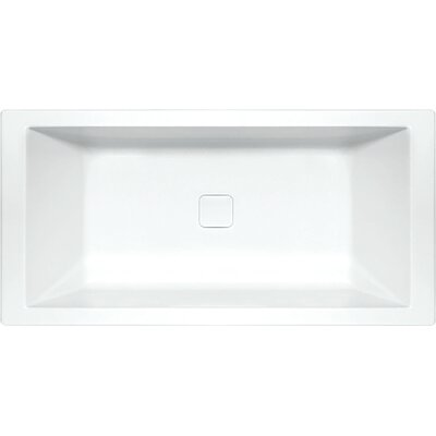 "Designer Versailles 72"" x 42"" Air Tub Finish: White"