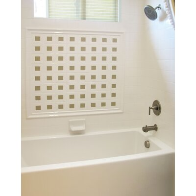 "Designer Sydney 60"" x 30"" Whirlpool Bathtub Finish: Almond"