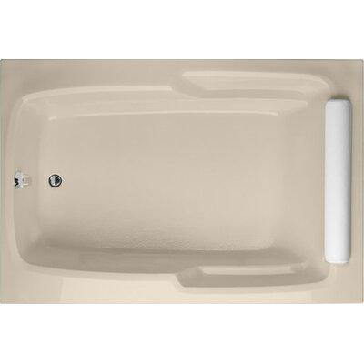 """Designer Duo 66"""" x 42"""" Soaking Bathtub Finish: Biscuit"""