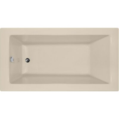 "Designer Sydney 60"" x 30"" Soaking Bathtub Finish: Almond"
