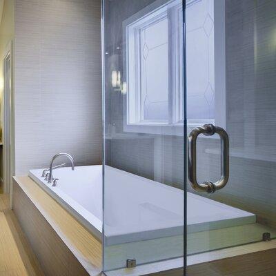 "Designer Versailles 66"" x 36"" Soaking Bathtub Finish: Biscuit"