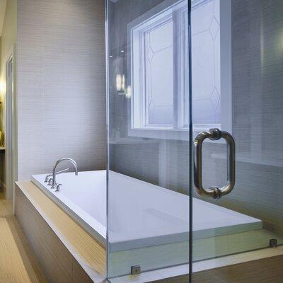 "Designer Versailles 72"" x 42"" Soaking Bathtub Finish: Biscuit"