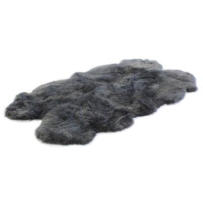 Bowron Sheepskin Handmade Dover Area Rug