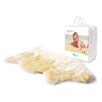Bowron Sheepskin Longwool Lambskin Baby Comforter