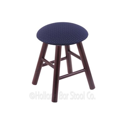 Vanity Stool Color: Axis Denim, Finish: Dark Cherry Maple