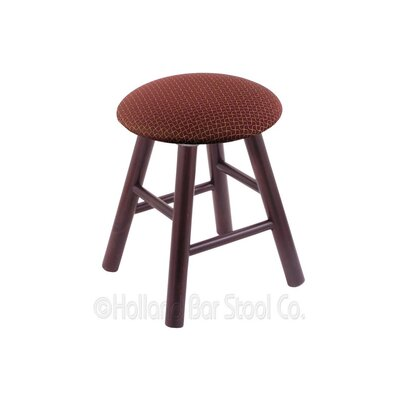 Vanity Stool Color: Axis Paprika, Finish: Dark Cherry Maple