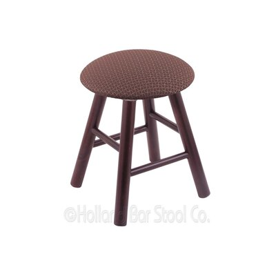 Vanity Stool Color: Axis Willow, Finish: Dark Cherry Maple