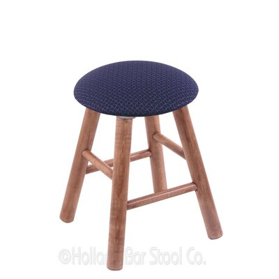 Vanity Stool Color: Axis Denim, Finish: Medium Maple