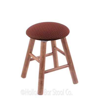Vanity Stool Color: Axis Paprika, Finish: Medium Maple