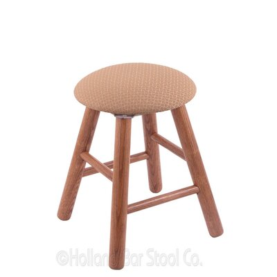 Vanity Stool Color: Axis Summer, Finish: Medium Oak