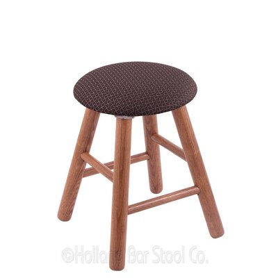 Vanity Stool Color: Axis Truffle, Finish: Medium Oak