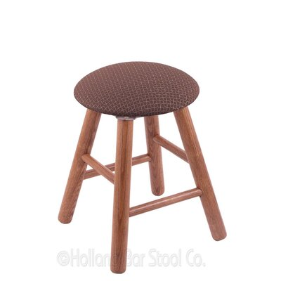 Vanity Stool Color: Axis Willow, Finish: Medium Oak