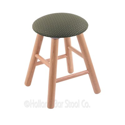 Vanity Stool Color: Axis Grove, Finish: Natural Oak