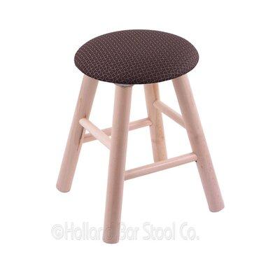 Vanity Stool Color: Axis Truffle, Finish: Natural Maple