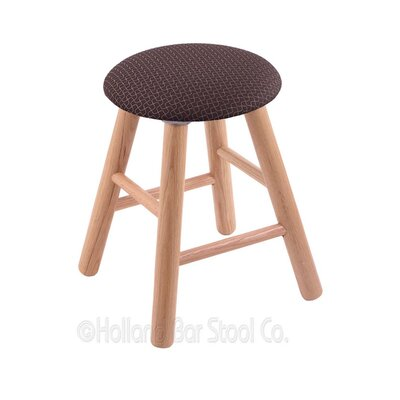 Vanity Stool Color: Axis Truffle, Finish: Natural Oak