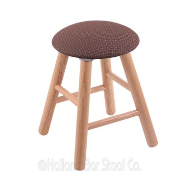Vanity Stool Color: Axis Willow, Finish: Natural Oak