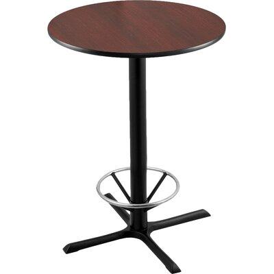 "42"" Pub Table Tabletop Size: 30"" Dia"